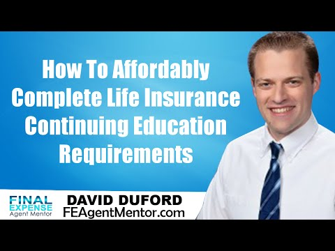 Life Insurance Continuing Education Courses - How To Cheaply Complete Them On The Web