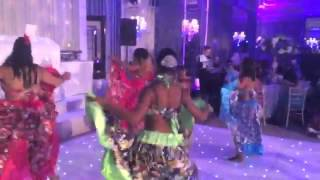 Tropical Flowers dancing to Tousse Sali by Mr Love