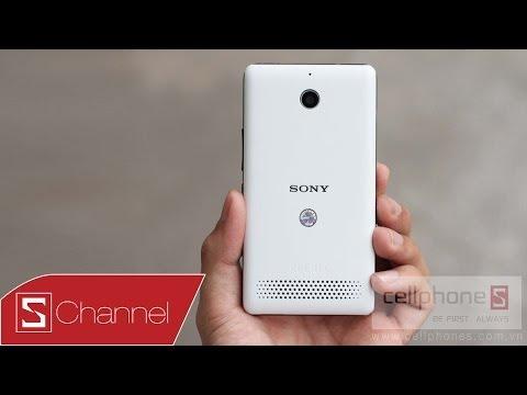 Schannel - Mở hộp Xperia E1 chính hãng - CellphoneS