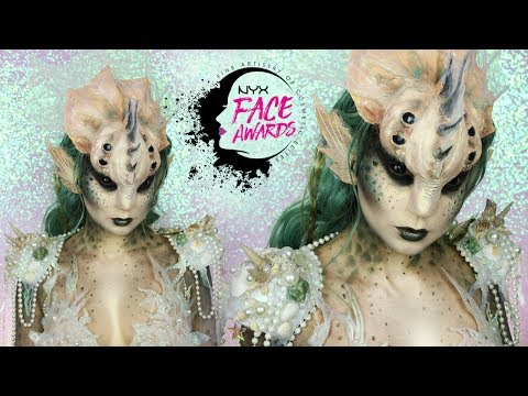 UNDERWATER CREATURES | NYX Face Awards Poland | TOP 10 | KarolinaZientek