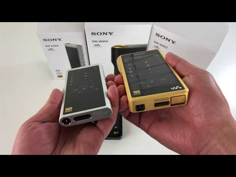 NEW! Sony NW-ZX300 Hi-Res Walkman Unboxing