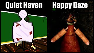Quiet Haven (Demo) & Happy Daze | 2 Horror Games in 1