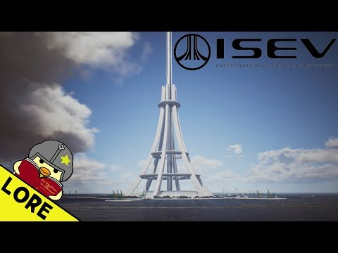 Ace Combat Lore | The Construction of the International Space Elevator