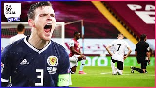 Why Scotland are refusing to take a knee during the Euro | Oh My Goal