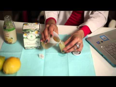 Lemon Juice & Chamomile Tea For A Mild Bleaching Effect : Face & Skin Care Help