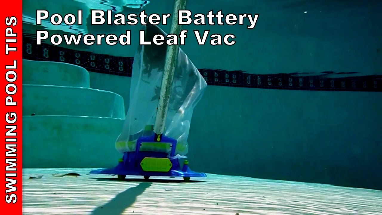 Pool Blaster Catfish Zubehör Pool Blaster Battery Powered Leaf Vac By Water Tech Review Demo