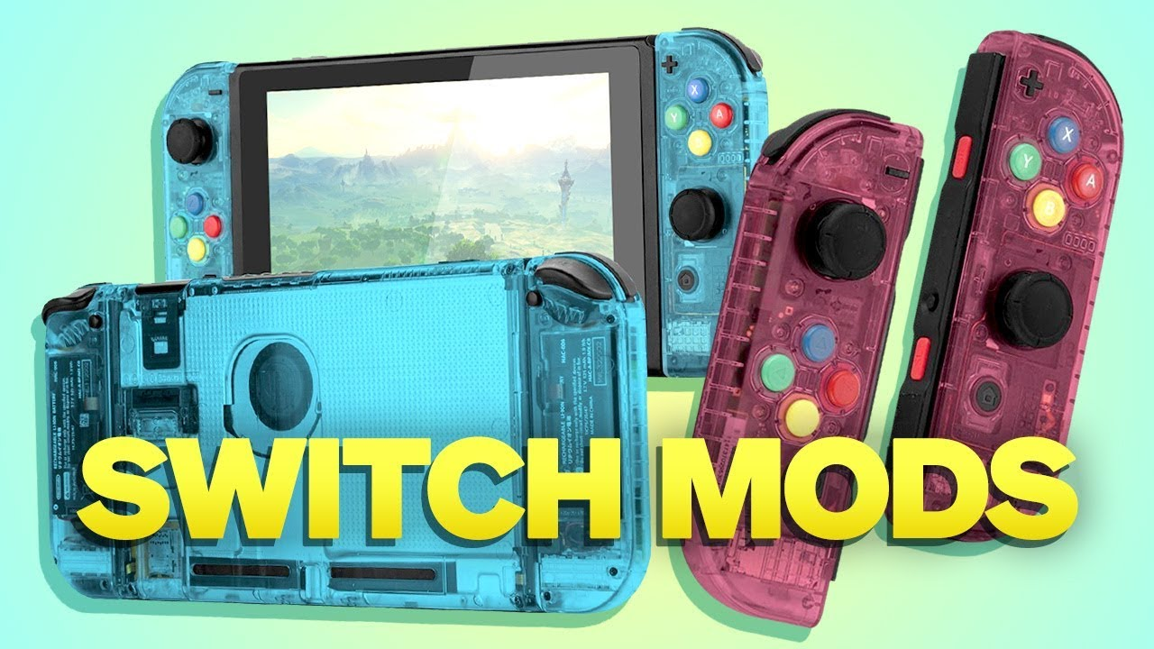 How To Mod Your Nintendo Switch And Joy Con Youtube