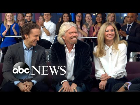 Entrepreneur Sir Richard Branson and his daughter on how to love your job