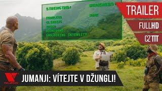 Jumanji: Vítejte v džungli! (2017) - Full HD trailer #2 - české titulky