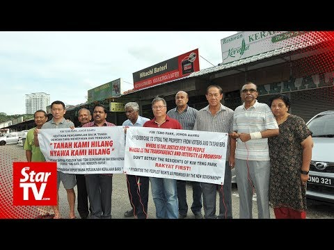 Kim Teng Park residents cry foul over land acquisition