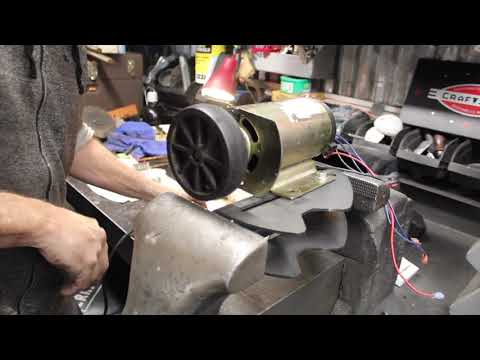 Quick Project YOU Can Do and Part 1 of the Treadmill Powered Bandsaw.