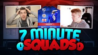 FIFA 16 7 MINUTE SQUAD BUILDER vs JACK54HD W/ RECORD BREAKER VARDY - DUAL SQUAD BUILDER!