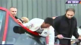 Docek Novaka Djokovica - docek sampiona ! [04/07/2011]