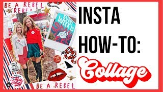 how-to edit collage style insta pics!!