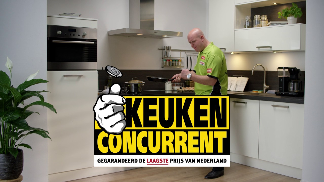 Keuken Cocurent Keukenconcurrent Is Trotse Sponsor Van Michael Van Gerwen