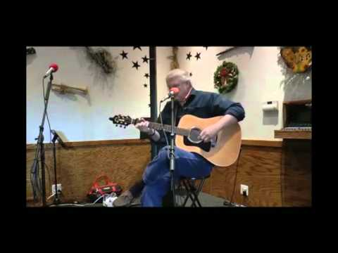 """Paul Loether plays Guy Clark's """"The Cape"""" at the Music Cafe, Damascus, MD December 19, 2015"""