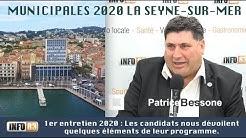 #MUNICIPALES2020 #LASEYNE 1er entretien 2020 : Patrice Bessone