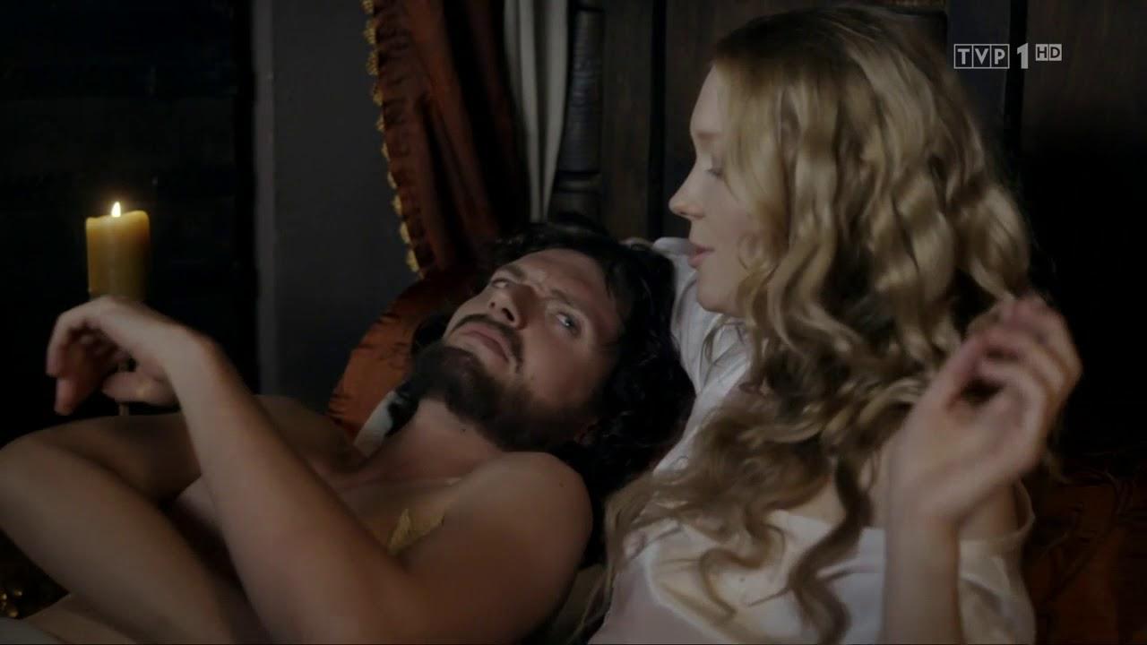 """""""Korona królów"""" – Królewskie uciechy – scena z odc. 7"""