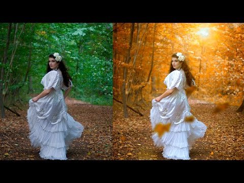 Photoshop photo change background color