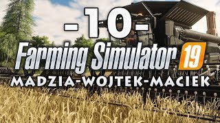 Farming Simulator 19 #10 - Zbiórka soi /w Gamerspace, Undecided [End]