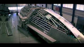 Hull Construction: Truly Classic 126 Superyacht