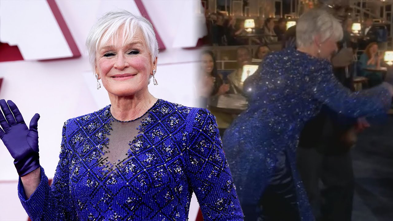 Glenn Close doing 'Da Butt' at the Oscars after losing for the eighth ...