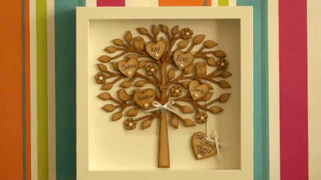 Polly\'s Cardy Craft Family Trees Ad - YouTube