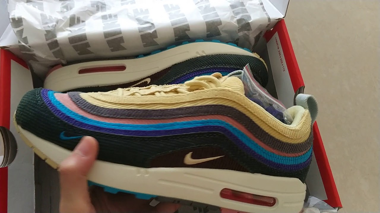 379af9f25d Sean Wotherspoon x Air Max 1/97 VF SW Hybrid AJ4219-400 - YouTube