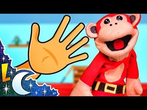 Música para Bebés | Saco una Manito y más Canciones de Cuna Con El Mono Sílabo | Lunacreciente