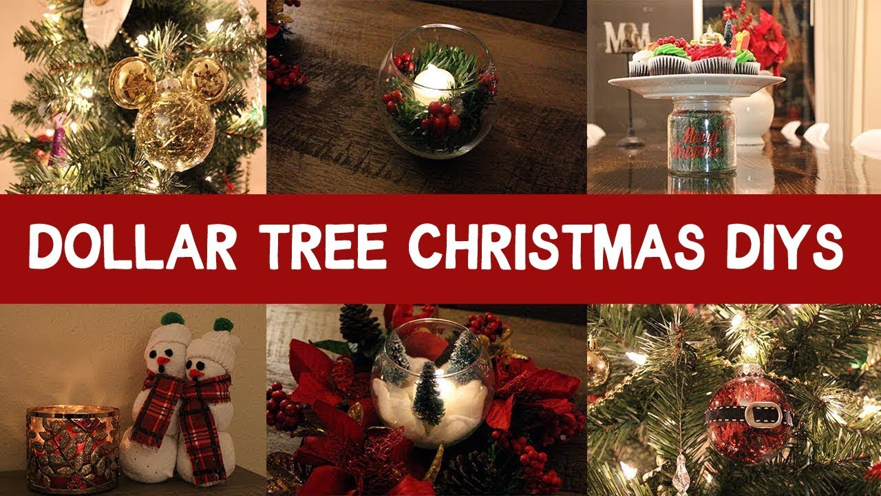 Dollar Tree DIY Christmas Decorations
