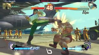 SSF4AE @ NLBC #28 - Aquasilk (Zangief) vs LOUD Zeus (Vega)