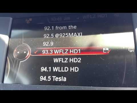 BMW X4 radio problem