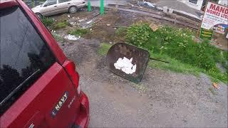 Mini Scrap Run + Street Scrapping
