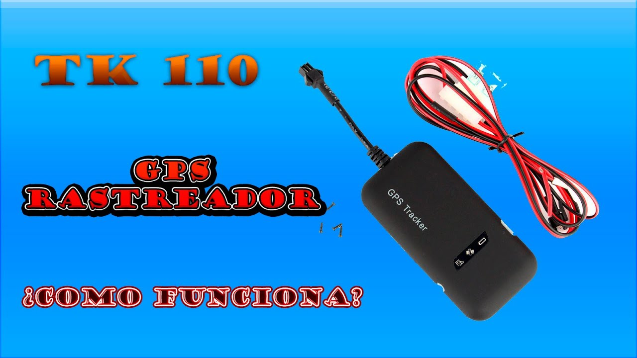 GPS Tracker TK 110 Rastreador (Español)