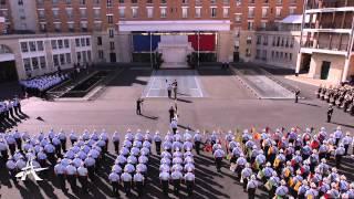 Cérémonie en l'honneur du général Gaëtan Poncelin de Raucourt
