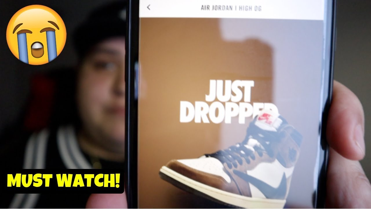 THE REAL REASON WHY SNKRS APP DID A SHOCK DROP ON THE TRAVIS SCOTT JORDAN 1