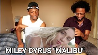 Miley Cyrus - Malibu (Official Video) (REACTION)