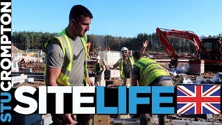 A Bricklayers Life,  On Site Bricklaying vlog UK