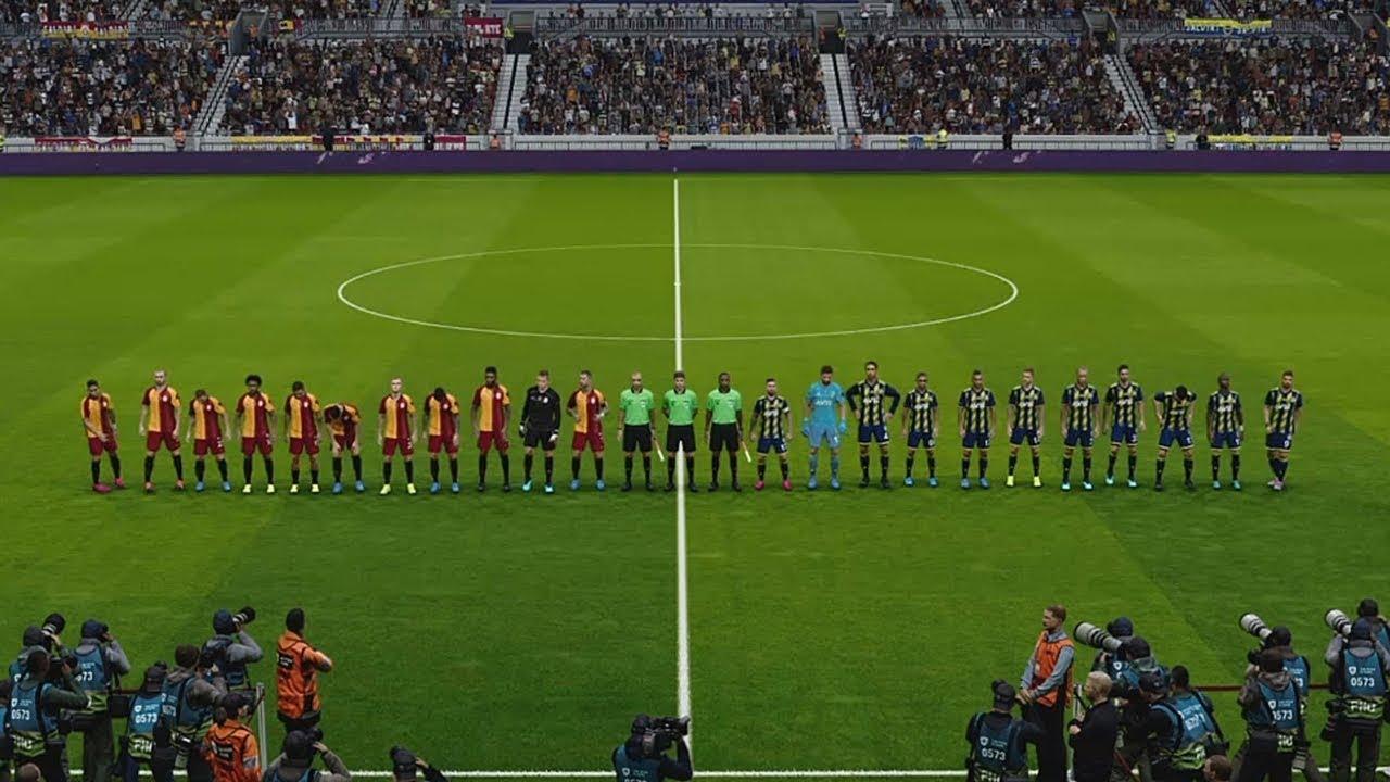 Galatasaray vs Fenerbahçe 2-3 ● Mix of Star Players PES 2020