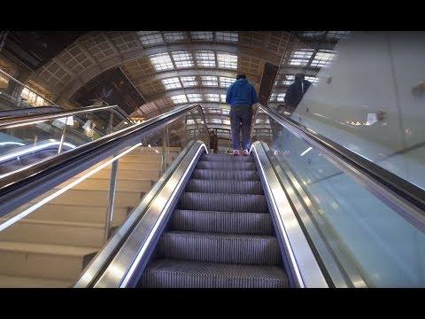 Sweden, Stockholm, Central Train Station / Cityterminalen bus exchange, 14X escalator, 1X elevator
