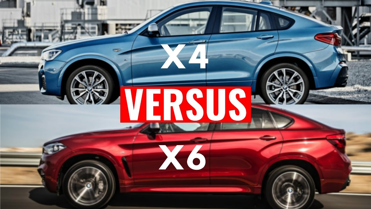 BMW X6 VS X4 SUV