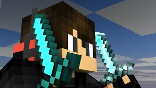 Wrecking people in bedwars | Minecraft Bedwars w/ Harryboomboy