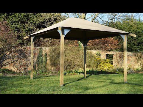 Step By Step Assembly Instructions for the ULTIMATE Wooden Gazebo Kit