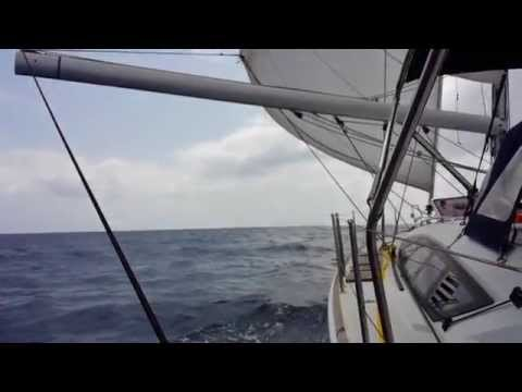 Sailing in Atlantic Ocean - East Africa