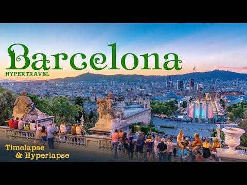 Barcelona Hypertravel. Timelapse & Hyperlapse