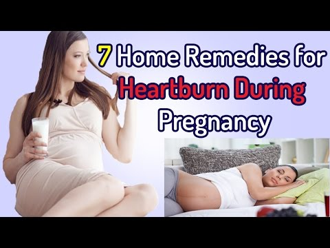 Home Remedies For Heartburn During Pregnancy - Home Remedies To Treat Heartburn During Pregnancy