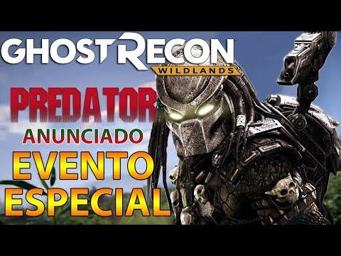 EVENTO SUPER ESPECIAL ANUNCIADO - PREDATOR - GHOST RECON WILDLANDS