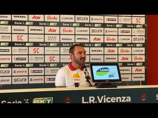CALCIO - Conferenza stampa di mister Brocchi, alla vigilia della gara contro la Cremonese
