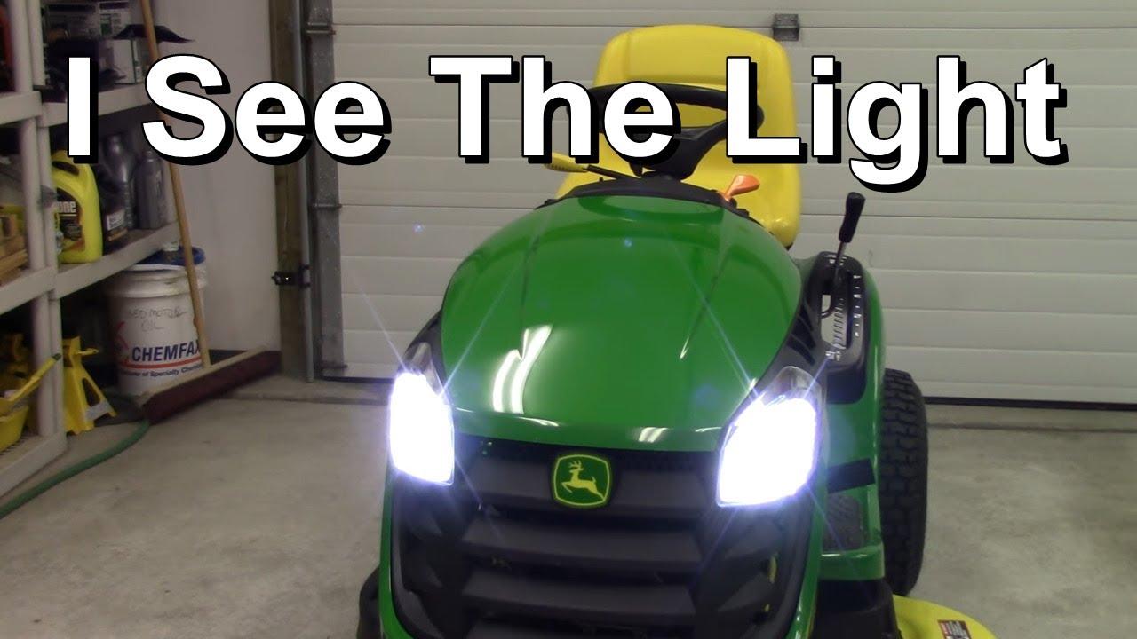 Led Lawn Mower Lights