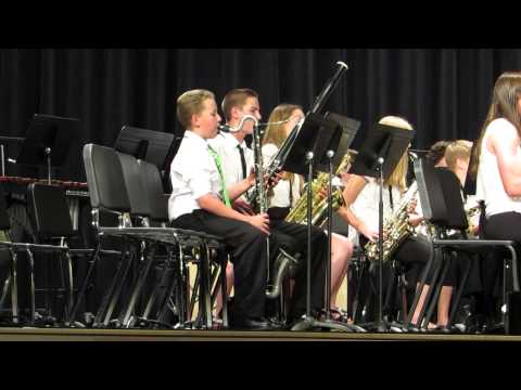 """""""Piper's Rhapsody"""" by Spry Middle School Band"""